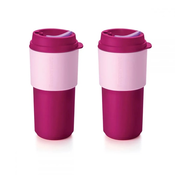 Tupperware Eco to Go cups set of 2